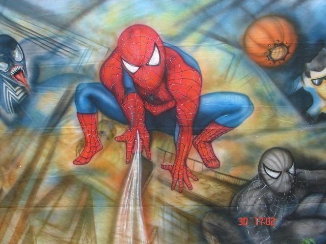 Locação peças Homem Aranha - Decoração Festa Aniversário Infantil - MariaFumaçaFestas (DF)