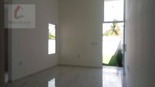 Casa Eusébio 03 quartos amplo terreno - Foto 6