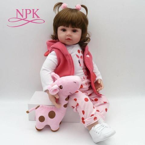 0623a29e03943 Bebe Reborn NPK Rosa Boneca Realista - Pronta Entrega - Artigos ...