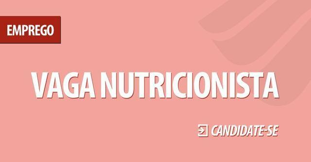 Contrata-se Nutricionista