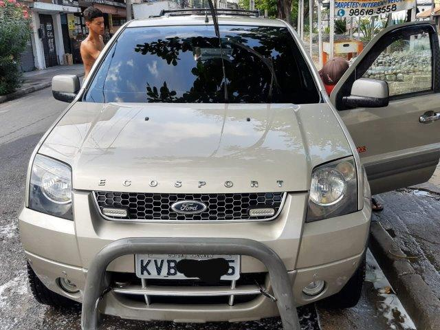 """Ford EcoSport FreeStyle TOP!! """"Quase 0km"""" + GNV + Multimidia"""
