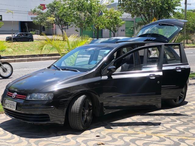 Fiat Stilo com Teto Solar, Rodas 17'', Suspensão preparada, Caixa de som, DVD - Foto 5