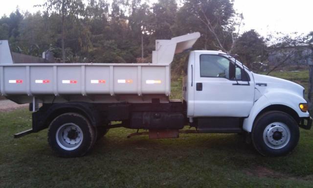 Caminhão basculante f12000 $45 mil