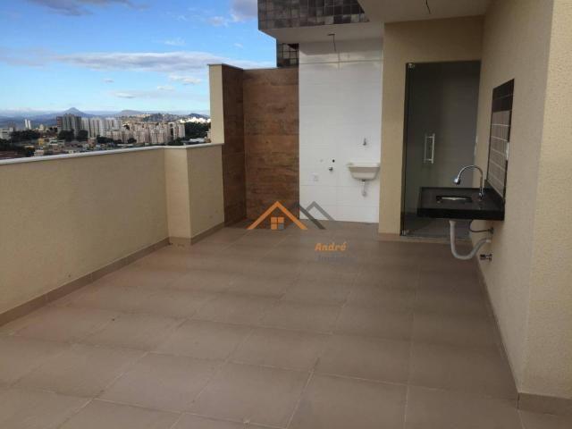 Cobertura com 2 quartos à venda, 50 m² por R$ 329.000 - Sao Joao Batista - Belo Horizonte/ - Foto 2