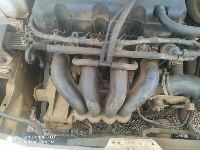 Motor completo Ford Courier eco sport e fiesta 1.6 Zetec 2006 Gasolina motor completo - Foto 2