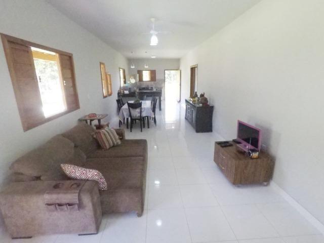 Chácara dos sonhos c/ casa de 3 quartos, piscina e área de 1000 m²,600 m da praia - Foto 9
