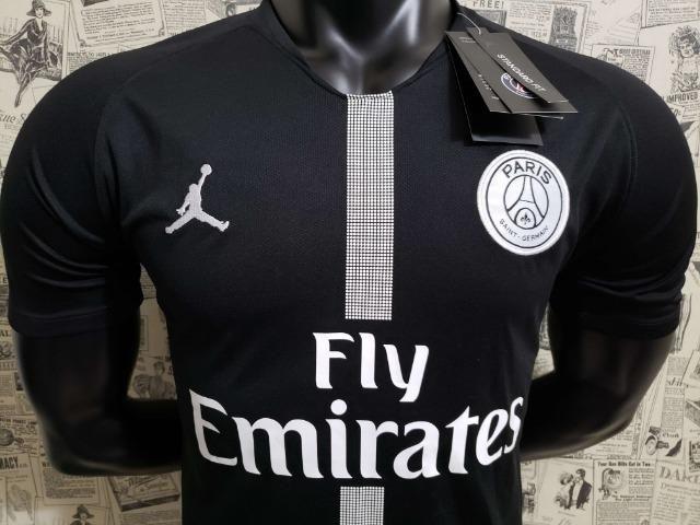Camisa Psg Jordan Preta - Foto 4