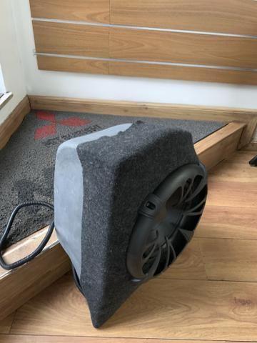 Subwoofer com módulo para mala do mitsubishi lancer - Foto 2
