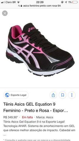 32db6b170cb Vendo tênis ASICS original com com caixa tamanho 36 - Roupas e ...