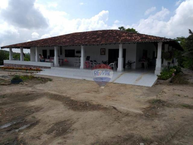Fazenda com 4 dormitórios à venda, 800000 m² - zona rural - gravatá/pe