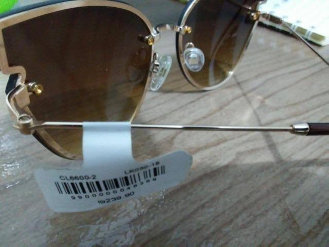 99cf9ce28de1a Óculos de Sol Feminino Carolina Lemke Berlim apenas 60