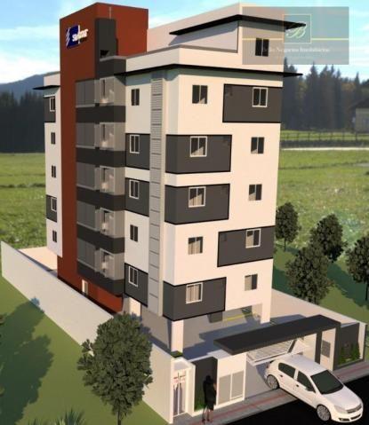 Apartamento com 2 dormitórios à venda, 55 m² por R$ 182.524 - Santa Catarina - Joinville/S - Foto 2