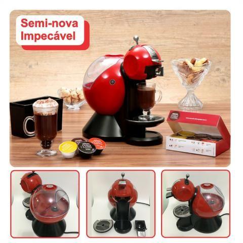 77e3b3449 Cafeteira Nespresso Nescafé Dolce Gusto Vermelha - Faz Capuccino e Chá  Gelado