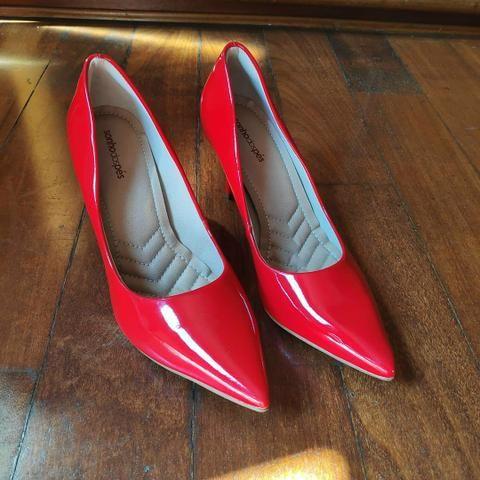 5a2bd4abac Scarpin vermelho Sonho dos Pés - Roupas e calçados - Centro