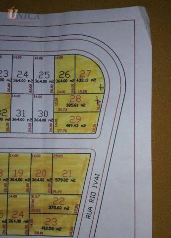 Terrenos à venda, 385 m² e 433 por R$ 35.000 e R$ 38.500 - Cond. Pesca e Lazer Porto Marin - Foto 10