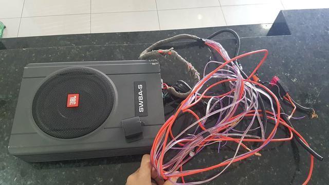 Caixa de som Slin JBL 8 polegas amplificada novinha - Foto 2