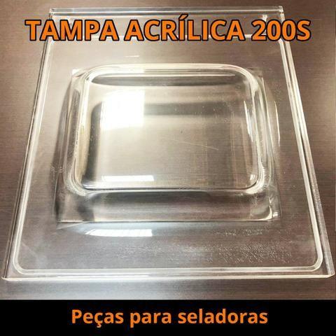 Tampa Acrílica Seladoras a Vácuo - Foto 2