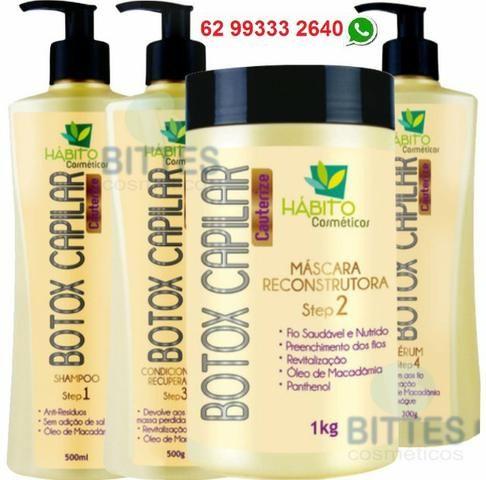 Kit para Cabelos Extremamente Danificados Hábito Cosméticos Botox Capilar 76509