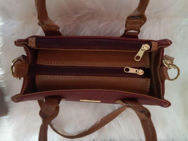 Bolsa tamanho médio tradicional  - Foto 2