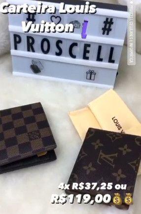 Carteira de bolso Louis Vuitton - Grife