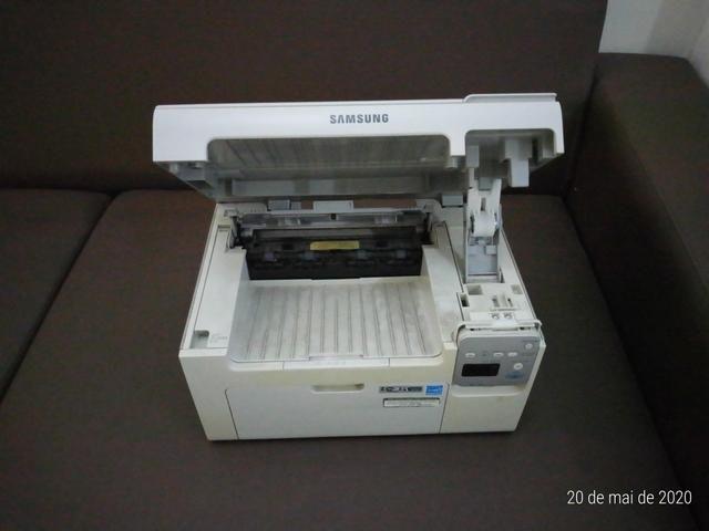 Impressora Multifuncional a laser monoc. Samsung SCX-3405W c/ WiFi e estabilizador 1000w - Foto 4