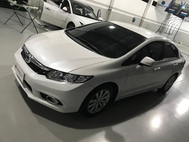Blindado Honda Civic lxr Flex 13/14 80.000 km - Foto 6