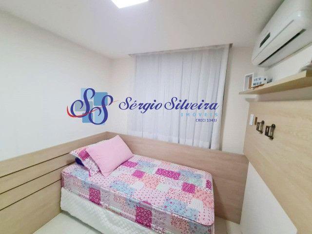 Mobiliado! Apartamento no Porto das Dunas com 3 quartos Parque das Ilhas - Foto 7