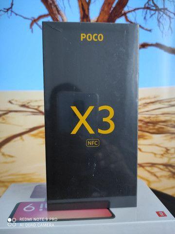 Natal Xiaomi! Pocophone X3 ... NOVO LACRADO COM GARANTIA e entrega hj