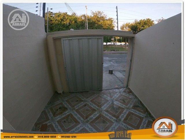 Casa com 3 dormitórios para alugar, 90 m² por R$ 900,00/mês - Vila União - Fortaleza/CE - Foto 3