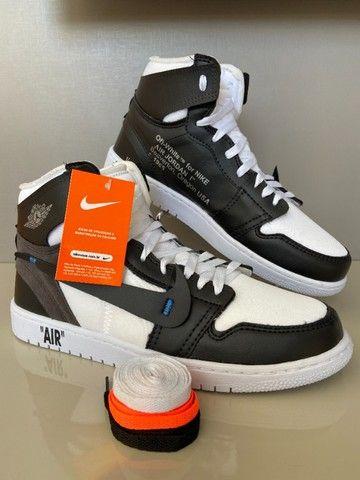 Tênis Air Jordan Com 3 Cardaços - Foto 3