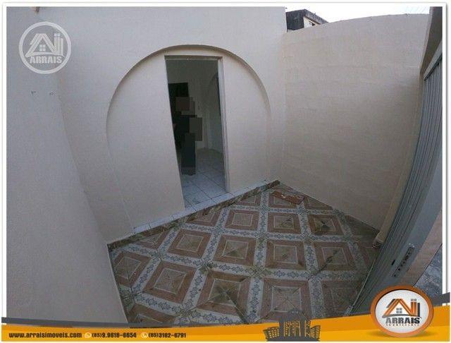 Casa com 3 dormitórios para alugar, 90 m² por R$ 900,00/mês - Vila União - Fortaleza/CE - Foto 2