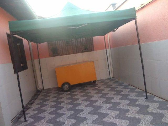 Vendo tenda 3× 3 E carrinho de Lanche