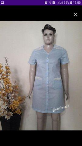 Camisola/Robe em tecido algodão