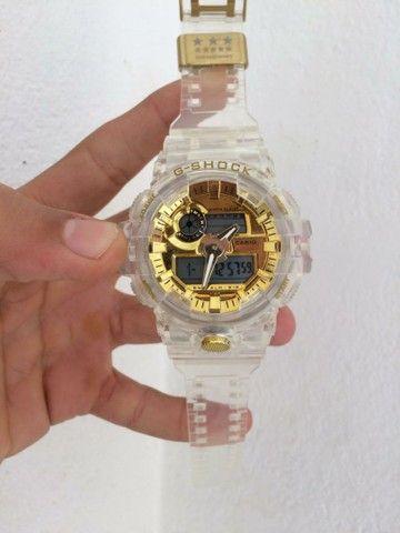 Relógio Casio G-Shock Transparente A prova d'água