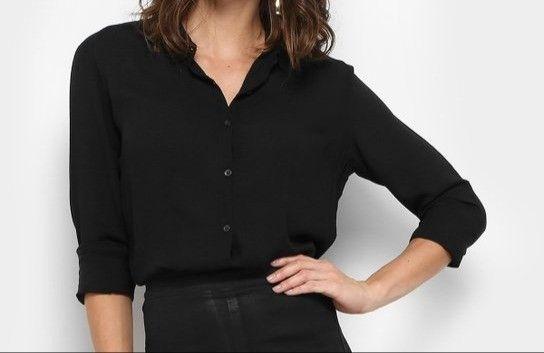 Camisa Feminina Blusa Social