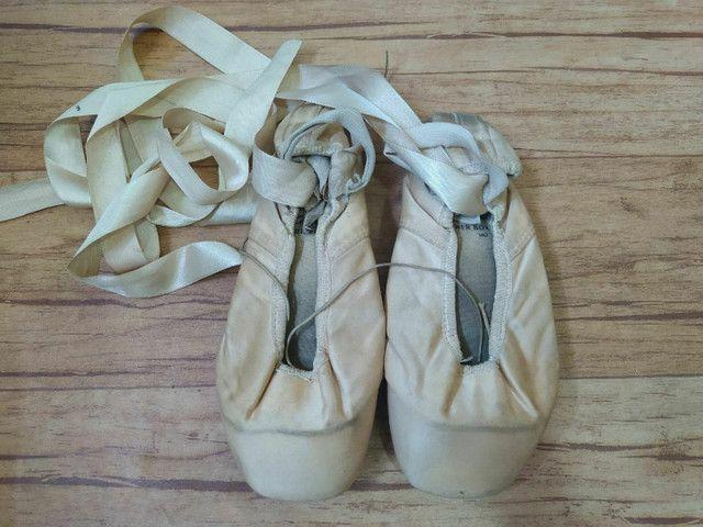 Sapatilha Ponta Partner Box Capezio Ballet - Foto 2