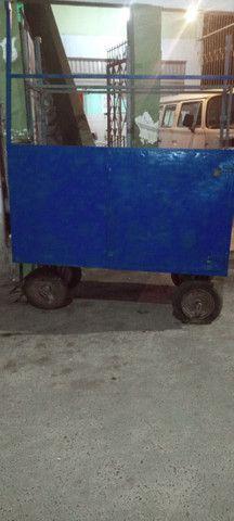 Carro multiuso pra vender lanches , verduras ou fazer carretos - Foto 2