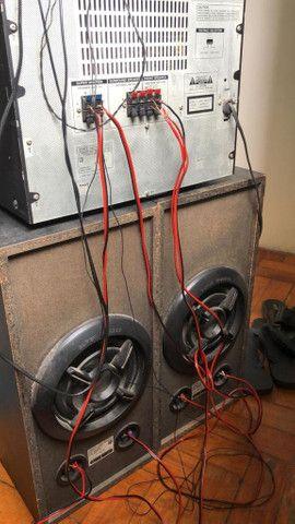 caixa de som sony super woofer lbtn455 - Foto 3
