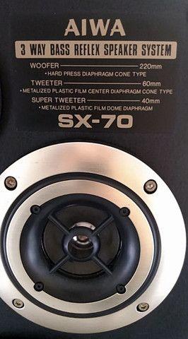 Caixas de som passivas Aiwa SX70 - Foto 6