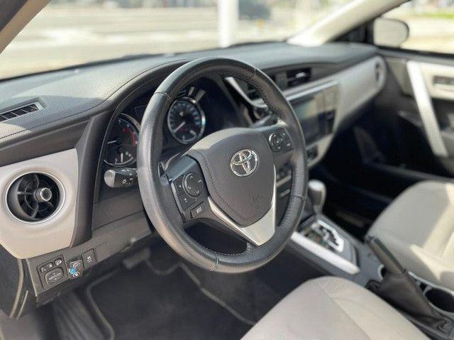 Toyota Corolla Xei 2018 Blindado Impecável - Foto 12