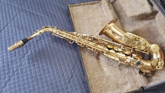Saxofone Alto Weril Master com Biqueira Selmer