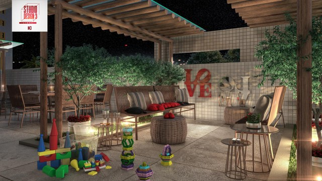 Edifício Studio Design 3 Lions Apartamento Studio na Ponta Verde em Maceió - Foto 14