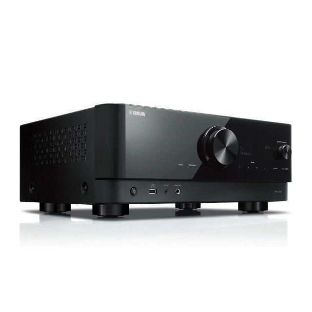 Receiver Yamaha RX-V4A 5,2 canais com HDMI 4K e MusicCast (encomenda)