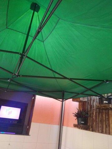 Vendo tenda 3× 3 E carrinho de Lanche - Foto 3