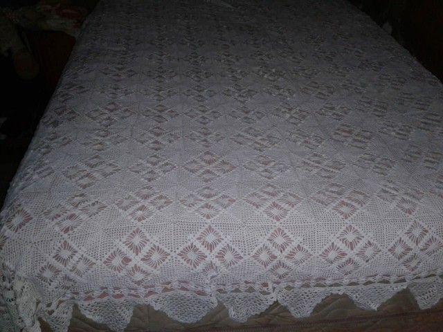 Vendo essa Cocha de cama de crochê
