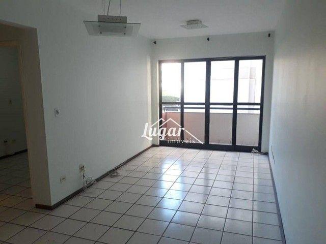 Apartamento com 2 dormitórios para alugar, 70 m² por R$ 800,00/mês - Jardim Aquárius - Mar - Foto 2