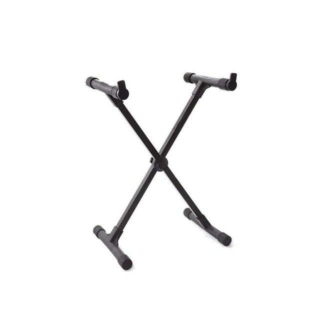 suporte teclado tipo x ibox para teclado/piano(novo sem uso)