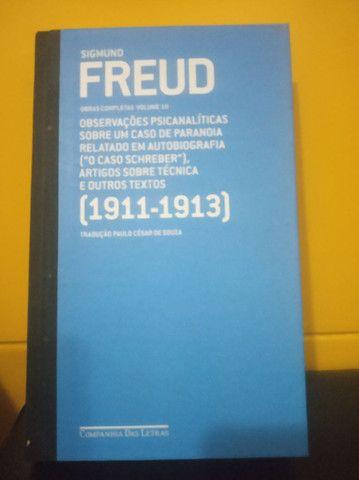 """Livro - Freud (1911-1913) """"o caso Schreber"""" e outros textos<br><br>"""