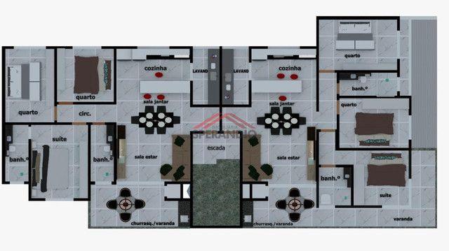 Última unidade! Apartamento novo c/ 1 suíte + 2 quartos, frente para Avenida Pérola - Cond - Foto 4