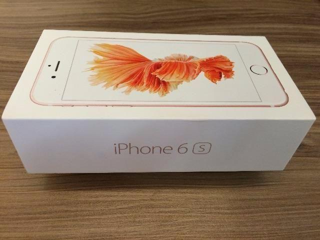Iphone 6s plus lacrado na caixa rose space gray silver gold